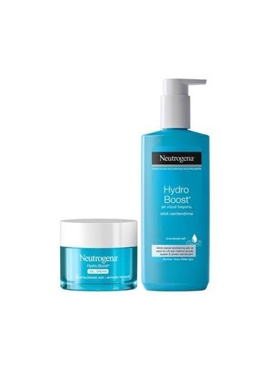 Neutrogena Hydro Boost Gel Cream 50 Ml+Jel Vücut Losyonu 400 Ml Renksiz